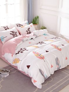 """Wild One"" with Feathers Cute Bedroom Decor, Cute Bedroom Ideas, Girl Bedroom Designs, Room Ideas Bedroom, Baby Room Decor, Dream Bedroom, Cute Bed Sheets, Deco Zen, Cozy Room"
