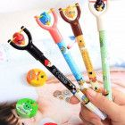 5 Pcs Angry Birds Red Pens for Kids with Sling Shots