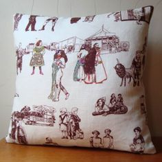 I seriously cannot resist toile....