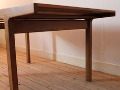 Table in French walnut by Van Den Berghe-Pauvers.  Check my website for more info: www.lievengoossens.eu