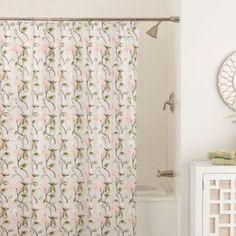 Zen Floral X Shower Curtain