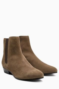 Buy Khaki Suede Pixie Boots from the Next UK online shop