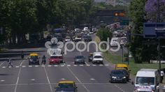 Traffic in Buenos Aires Time Lapse - Stock Footage | by buclefilm
