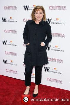 Zoe Wanamaker 'Cantina' opening night at London Wonderground,