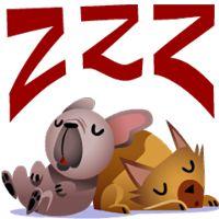 Mugsy Facebook Stickers - Stickers Emoticon Emoji Stickers, Love Stickers, Gifs, Image Facebook, Smiley Emoji, Good Morning Good Night, Sleeping Dogs, Lilo And Stitch, Funny Cute