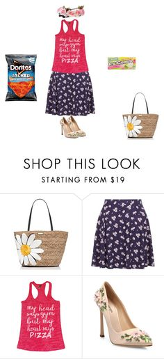 """""""MY 100th SET!!!!!"""" by leeloowheeler ❤ liked on Polyvore featuring Kate Spade, New Look and Giambattista Valli"""