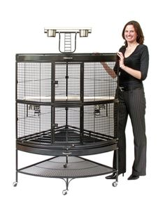 bird cages for parrots
