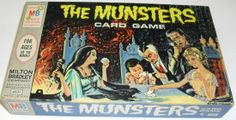 The Munsters Milton-Bradley Card Game / Collecting Classic Monsters The Munsters, Munsters Tv Show, Munsters Theme, Old Board Games, Vintage Board Games, Game Boards, Retro Toys, Vintage Toys, 70s Toys