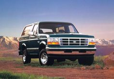 Product photo shoot for last body style of Ford Broncos