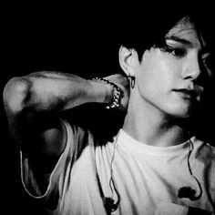 Jungkook BTS black and white bts b&w b&w edit b&w aesthetic bts icons black and white icons Jungkook Hot, Jungkook Oppa, Taehyung, Busan, Jung Kook, Jin, Bts Black And White, V Bts Cute, Bts Aesthetic Pictures