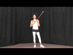 ▶ Annetta Lucero teaches Elbow-Pop to Neck - YouTube