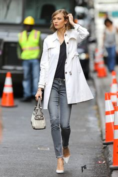 00e7aeea2a35e Karlie Kloss. Wishing I was 1.85. Statuesque and gorgeous Look Casual Chic