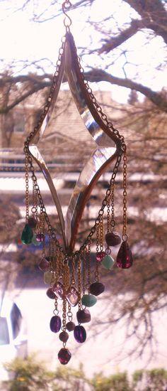 Garden Jewelry/Bevel's Purple DelightREDUCED by Lightworksartworks, $30.00