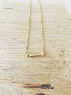 Morse Code Necklace - Tarr and Fether