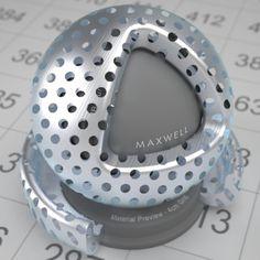 Perforated sheet 01 - aluminium