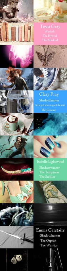 """The Shadowhunter Chronicles covers: The Women """"Ladies who play with fire must remember that smoke gets in their eyes."""" ― Mae West"""