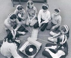 I wonder what they're listening to..