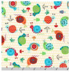 Garden Snails from Robert Kaufman's Creatures by StitchStashDiva