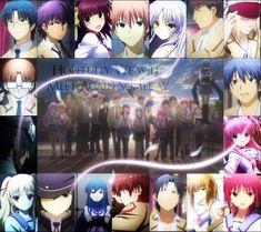 Their life leads them to a betterg destenation after life - Angel Beats! Manga Anime, Sad Anime, Anime Love, Anime Art, Angel Beats, Cute Anime Couples, Anime Couples Manga, Sword Art Online, Death Note