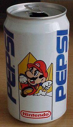 Pepsi Mario.