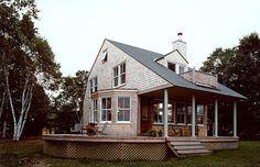 Cushing Island Cottage Exterior