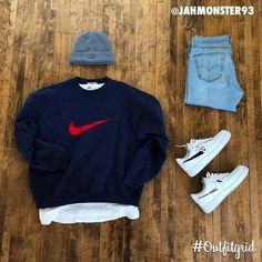 outfit grid 2 or by & & Dope Outfits For Guys, Swag Outfits Men, Stylish Mens Outfits, Mode Outfits, Casual Outfits, Fashion Outfits, Men Casual, Casual Styles, Smart Casual