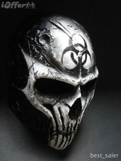 I found 'Coldbloodart Airsoft Paintball Mask - BioHazard Demon' on Wish, check it out! Skull Motorcycle, Mascara Oni, Paintball Gear, Totenkopf Tattoos, Airsoft Mask, Skull Mask, Cool Masks, Armor Concept, Masks Art