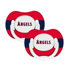 2-Pack Pacifiers - Los Angeles Angels of Anaheim