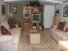 mobile home remodels before and after will keep adding a few pics when i find