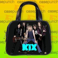 An4-kix Blow My Fuse Rock Band Handbag Purse Woman Bag Classic