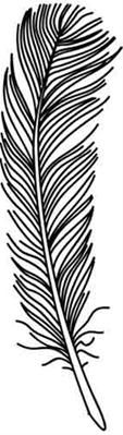 Wispy Feather_image..embroidery pattern