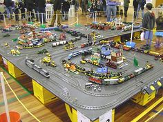 LEGO layout, so cool!