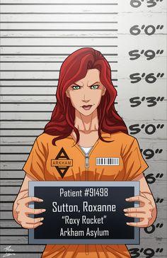 Roxanne Sutton locked up by phil-cho.deviantart.com on @DeviantArt