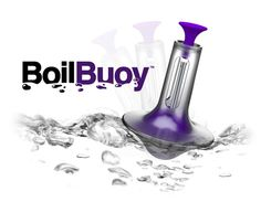 Once the water in pot is boiling, the floating Boil Buoy on the water will let you know with a ringing chime.