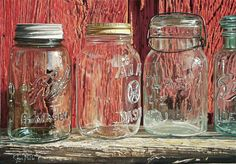 Fascinated by details and influenced by the works of Andrew Wyeth, American artist Steve Mills created great pieces of photorealism by focusing on objects of still life, e.g. newspaper, books, and glasses, etc.
