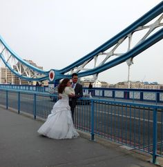 Doctor Who filming their 50th anniversary special on Tower Bridge this past April (2013)