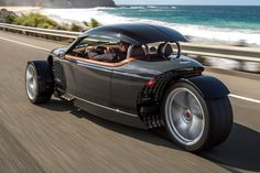 Check out the new Vanderhall models Fancy Cars, Cool Cars, New Car Quotes, Bmw Concept Car, Thunderbird Car, Reverse Trike, Vw Vintage, Retro Bike, Motor Works