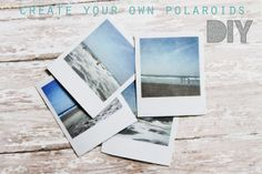 make your own polaroids