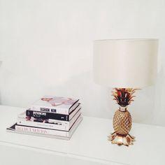 pineapple lamp from zara