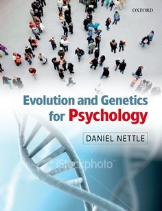 Check out our New Product  Evolution and Genetics for Psychology COD  AUTHOR:   Daniel NettlePublication date: 24.06.2009  Rs.2,756