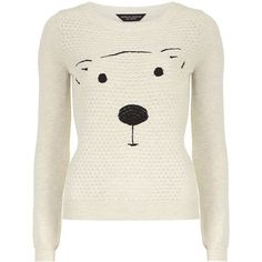 Cute longsleeve round neck quilted bear jumper approx 62cm 59% Cotton,41% Polyester. Machine washable.