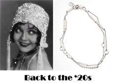 Battiquore Milano | Ripropone gli anni '20 con la sua collana in argento e perle della linea Cascata, adatta non solo per serate eleganti, ma anche alla vita di tutti i giorni.