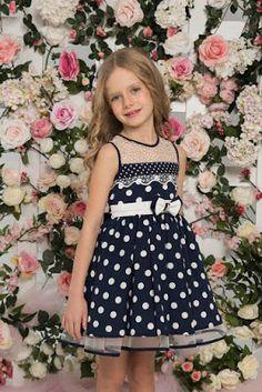 Vestidos de Niñas Elegantes para Fiesta Kids Frocks, Frocks For Girls, Little Girl Dresses, Girls Dresses, Toddler Dress, Baby Dress, Toddler Girl, Cute Girl Outfits, Kids Outfits Girls