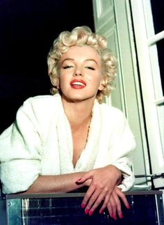 """""""Marilyn Monroe on the set of The Seven Year Itch, 1954. """""""