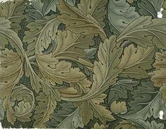 William Morris - acanthus