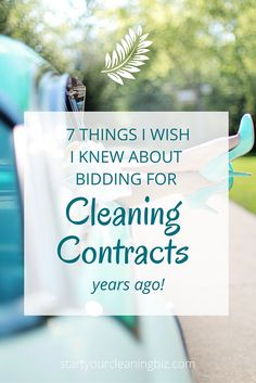 7 Things about bidding for cleaning contracts I wish I'd known years ago. – Start Your Cleaning Biz 7 Things about bidding for cleaning contracts I wish I'd known years ago. – Start Your Cleaning Biz Cleaning Contracts, Cleaning Companies, House Cleaning Services, Cleaning Company Logo, Commercial Cleaning Company, Carpet Cleaning Business, Cleaning Business Cards, Cleaning Schedule Printable, Cleaning Checklist