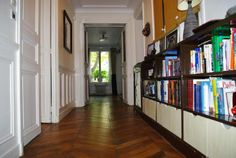 Entrance hall of Paris apartment for sale.