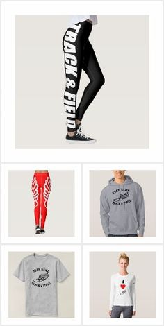 Track and Field Apparel on Zazzle! The coolest track and field clothing and apparel for runners! #trackandfield #track #run #runner #running #workout #apparel #clothing