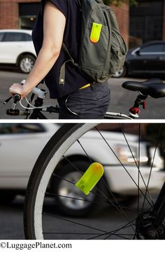 Magnetic Clip-On Safety Reflector LED Light. Great for jogging, cycling, or even walking the dog. #Jogging #Cycling #Safety