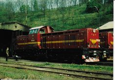 104+090 v 70.letech v MB Diesel Locomotive